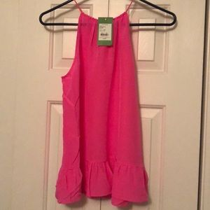 NWT Lilly Pulitzer Pink Halter Top